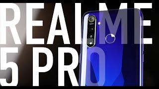 Обзор Realme 5 Pro.