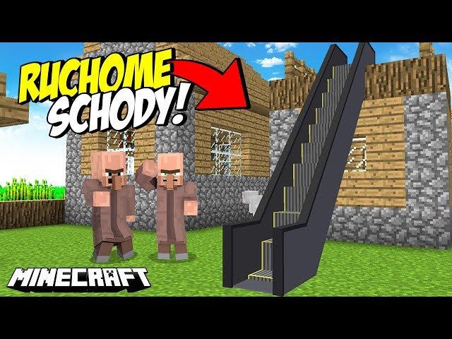 Jak Zrobic Ruchome Schody W Minecraft Bez Modow
