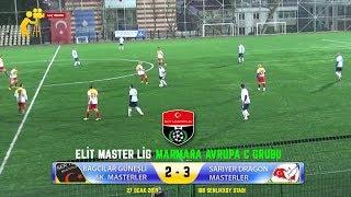 Bağcılar Güneşlispor Masterler - Sarıyer Dragon Masterler Maçı