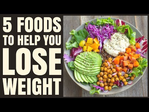 5 Foods to Lose Weight and Tips for Weight Loss / Healthy Hacks