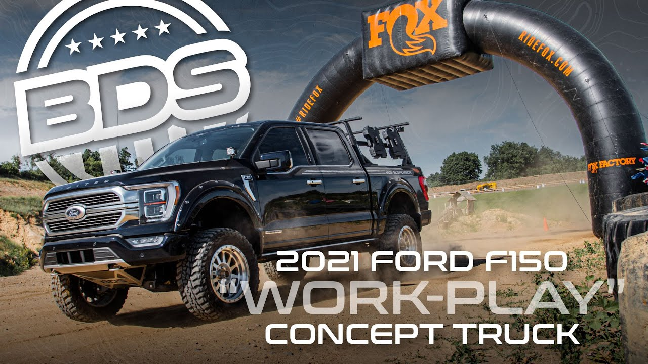 """2021 Ford F150 - 6"""" Lift Kit 