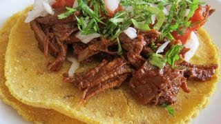 Beef Birriataco Recipe -- The Frugal Chef