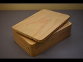 Make this stylish wooden box in a few easy steps