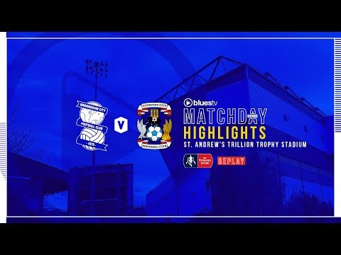 HIGHLIGHTS   Blues V Coventry City