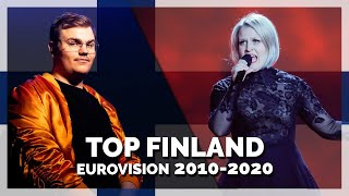 Eurovision FINLAND (2010-2020) | My Top 11