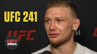 Casey Kenney says Manny Bermudez weighed 20 pounds more for fight | UFC 241 | ESPN MMA