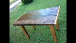 One Of A Kind Reclaimed Wood Table