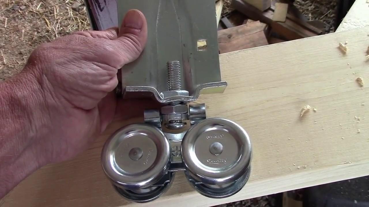 How To Build Install A Sliding Barn Door Diy Youtube
