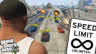 FRANKLIN has TURNED UP the SPEED LIMIT (GTA 5 Mods)