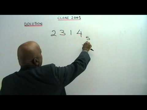 NUMBER BASES part 1(Form 5 topic)