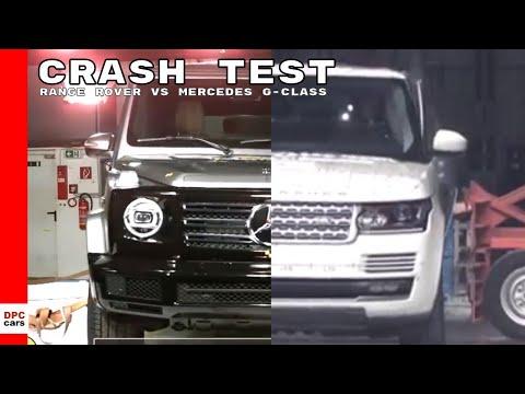 Range Rover Vs Mercedes G-Class Crash Test