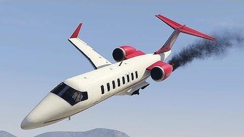 GTA 5 INCREDIBLE AIRPLANE CRASH COMPILATION!!!