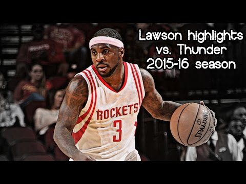 Ty Lawson 14 Pts & 11 Ast Vs. Thunder (NBA RS 2015/2016) - UNREAL!