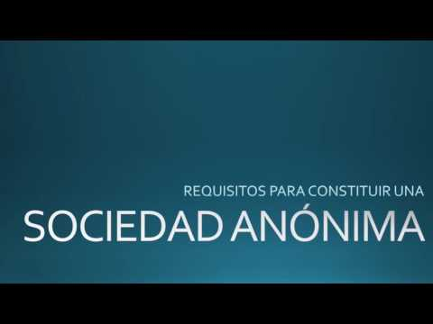 Requisitos para Constituir una Sociedad Anónima en Panamá