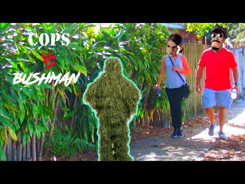 BUSHMAN SCARES UNDERCOVER COPS