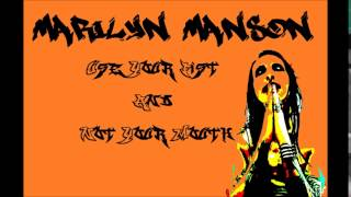 Marilyn Manson- Use Your Fist Not Your Mouth Instrumental