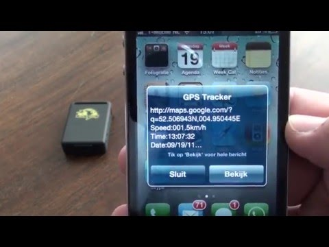 RIBU GPS TRACKER TK102 - YouTube