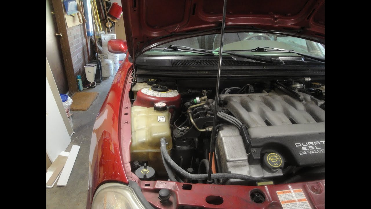 flushing the power steering fluid on a 98 ford contour [ 1280 x 720 Pixel ]