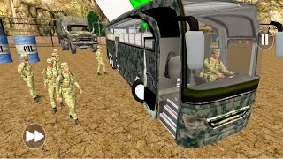 Army Bus Driver 2021 - Real Military Coach Simulator #02 - Android Gameplay screenshot 1