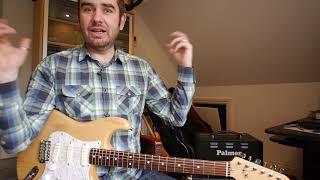 Fender 70s Strat EMG Dave Gilmour Pickups Demo Review