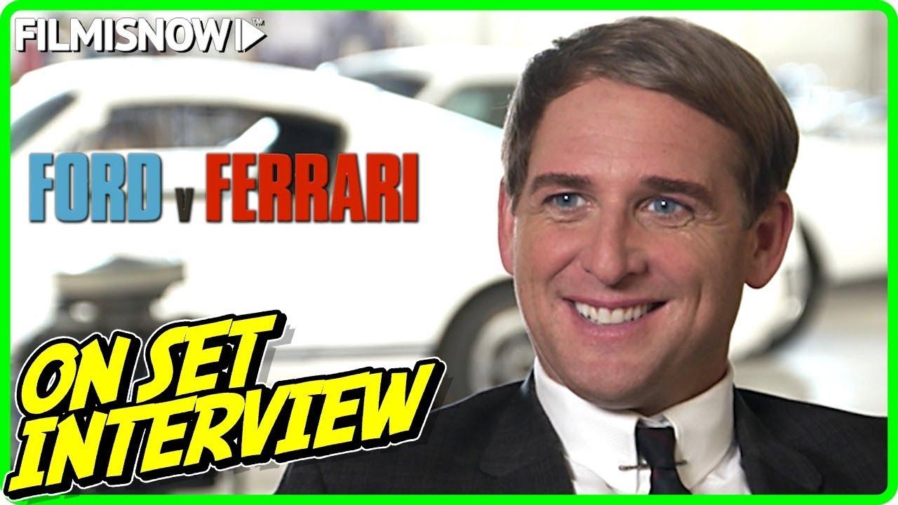 Ford V Ferrari Josh Lucas Leo Beebe On Set Interview Youtube