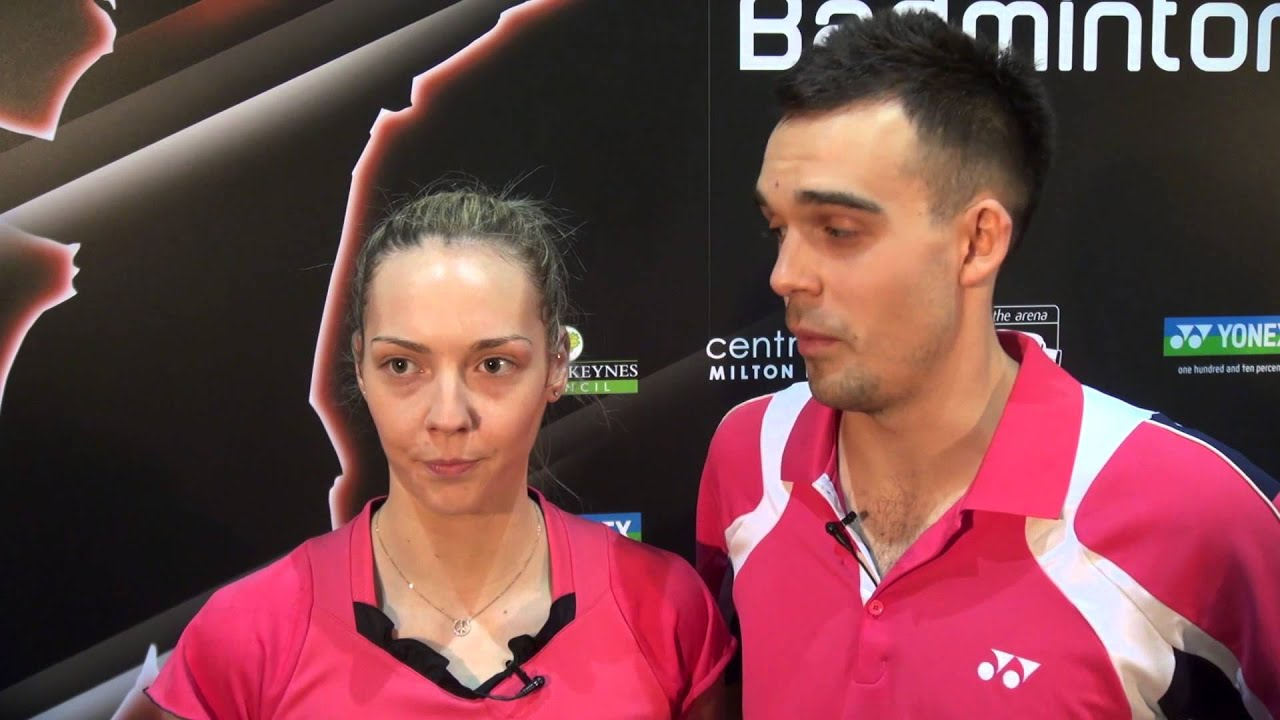 Chris Adcock and Gabby Adcock reflect on their National Badminton