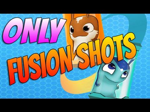 Slugterra Slug it Out ! #102  ONLY FUSION SHOTS   Novabolt, Frostbomb, Sparkrain & Aquaboost