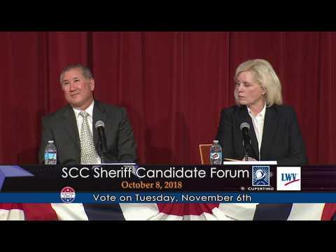 League of Women Voters Santa Clara County Sheriff Forum 2018
