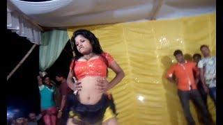 New local hot sexy bhojpuri open arkestra dance video