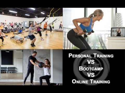 Personal Training vs Bootcamp vs Online Training