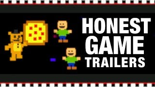 FIVE NIGHTS AT FREDDY'S - PIZZERIA SIMULATOR (Honest Game Trailers) thumbnail
