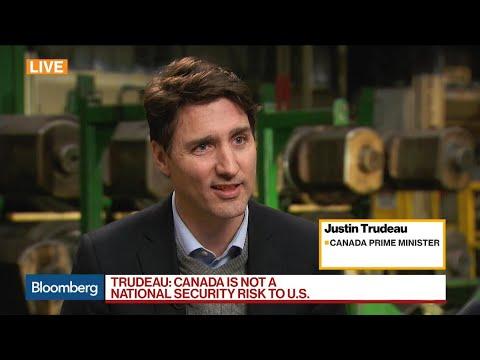 Canadian PM Trudeau Is 'Confident' on Nafta Talks