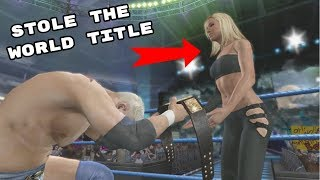 5 Times The World Title Was Stolen In WWE Games