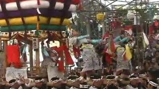 長崎くんち 樺島町 太鼓山(コッコデショ)【高画質版】