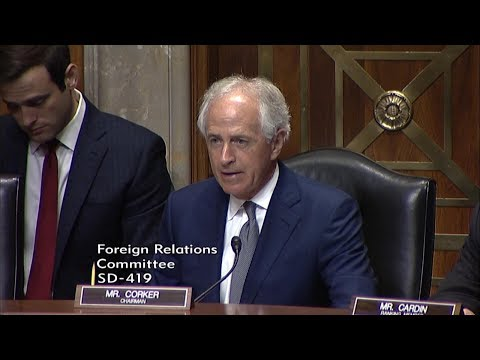 Corker Opening Statement at Hearing on Taylor Force Act