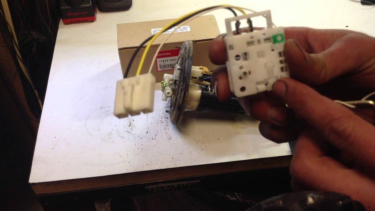 1998 honda accord fuel pump sending unit youtube wheels for 1996 honda accord 1998 honda accord fuel pump sending unit