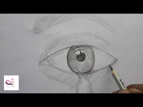 How to draw a realistic eye for beginners/pencil drawing