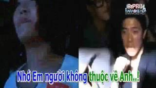 Karaoke Anh nhớ em người yêu cũ remix - Minh Vương - Nguoicodonvn2008.info ( Dual)