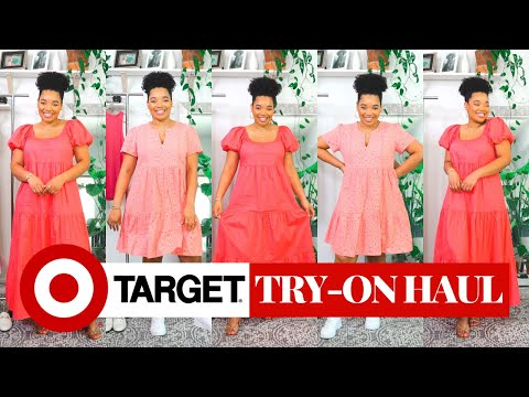 Target Try-on Haul | Affordable Summer Dresses