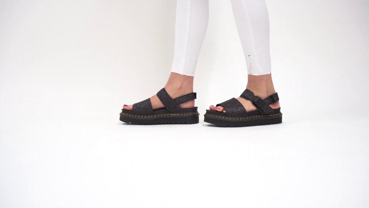 doc marten glitter sandals