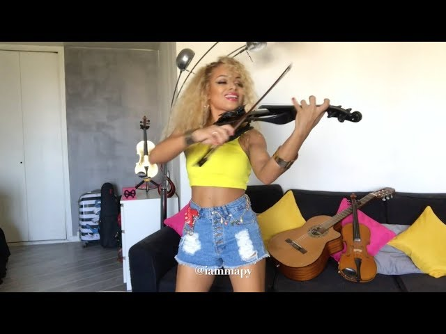 Mapy Violinist Mi Gente By J Balvin Willy William Violin Cover