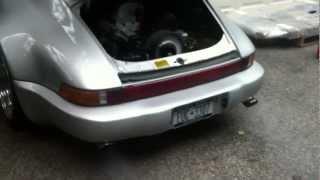 Porsche 911 Start up after rebuild