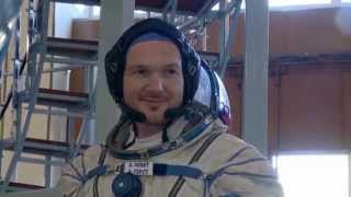 ESA-Astronaut Alexander Gerst: In der Rakete zur ISS