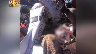 Five killed in Londiani plane crash : Plane crashed in Makutano forest