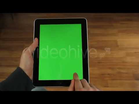 Touch Screen Tablet Surfing