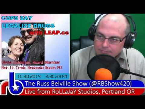 The Russ Belville Show #479 - LEAP's Diane Goldstein on California Prop 47