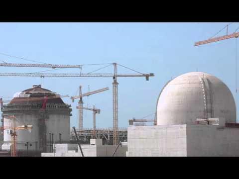 محطة براكة للطاقة النووية في أكتوبر 2015 - Barakah Nuclear Power Plant in October 2015