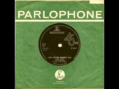 THE COASTERS - Love Potion Number Nine - PARLOPHONE (UK)