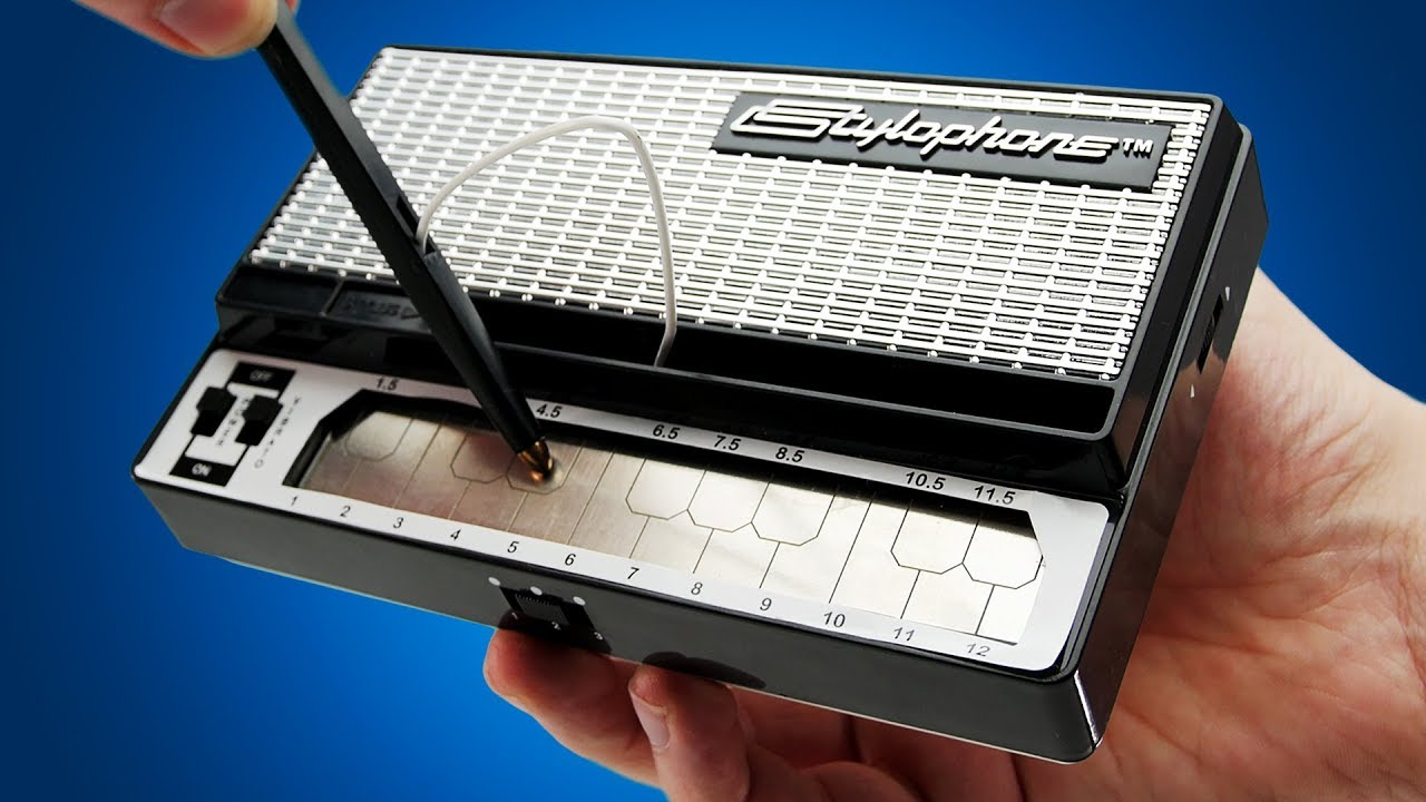 stylophone retro pocket synth lootd unboxing youtube. Black Bedroom Furniture Sets. Home Design Ideas