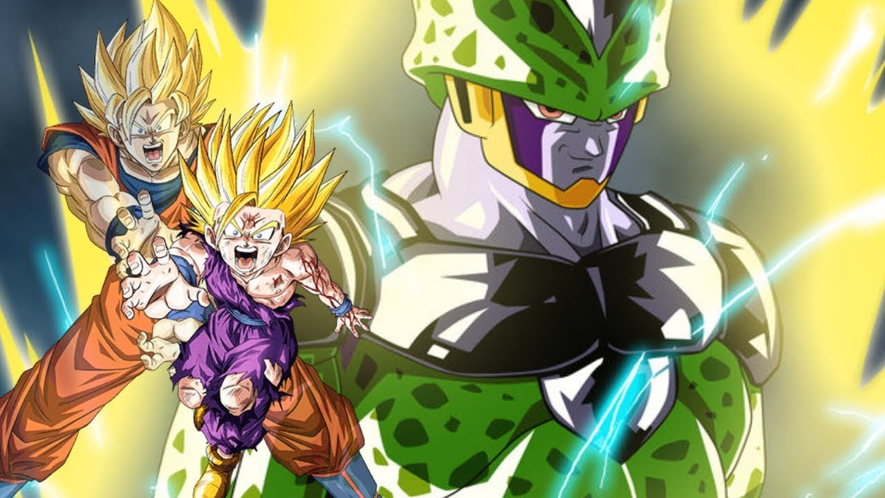 Top 20 Strongest Dbz  Cell Saga  Characters